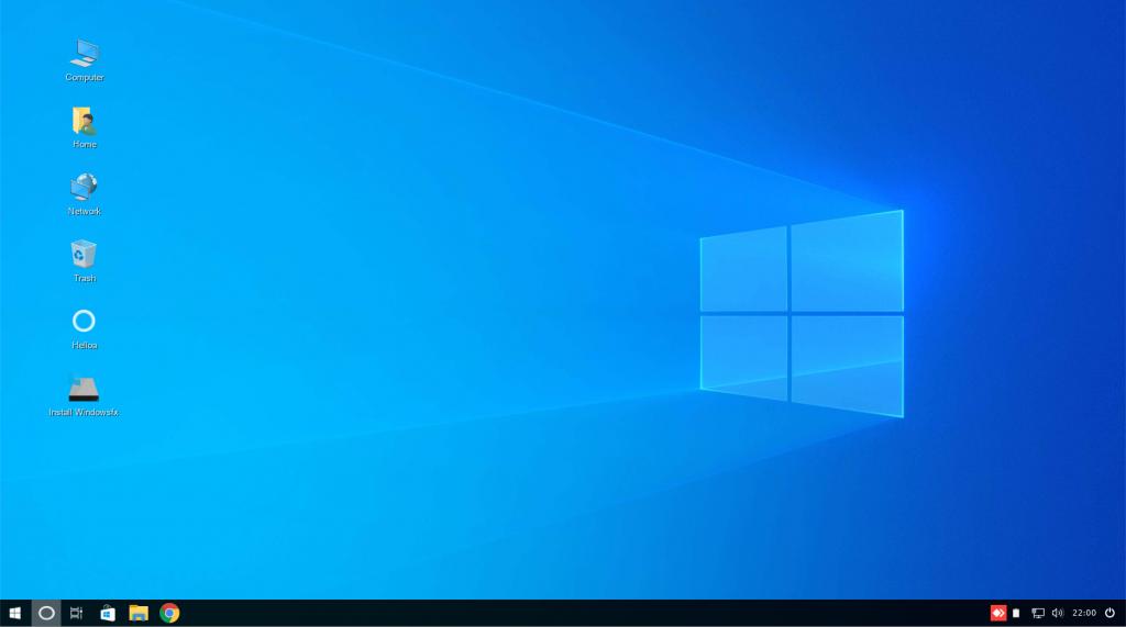 Tela inicial / Desktop